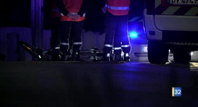 Canal 32 - Un cycliste perd la vie dans un accident à La Chapelle Saint-Luc