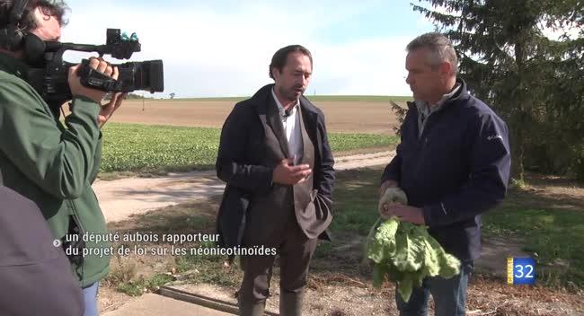 Canal 32 - Un député aubois rapporteur du projet de loi sur les néonicotinoïdes