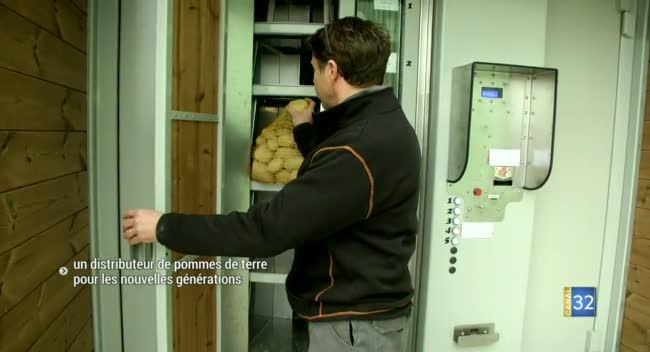 Canal 32 - Barberey-Saint-Sulpice : un distributeur de pommes de terre 24h/24 et 7j/7 !