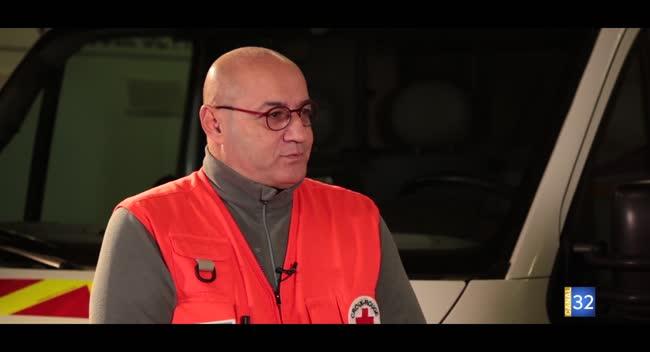 Canal 32 - Un jour dans l'Aube décembre - Fabrice Quireza, une vie consacrée à la Croix Rouge