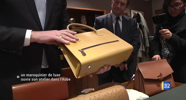 Canal 32 - Un maroquinier de luxe va ouvrir son atelier dans l'Aube