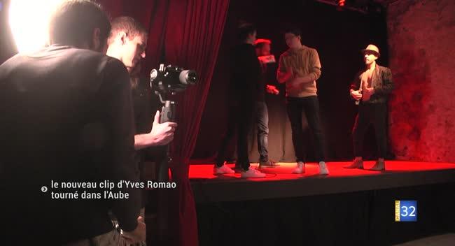 Canal 32 - Un nouveau clip Made in Aube pour le chanteur Yves Romao