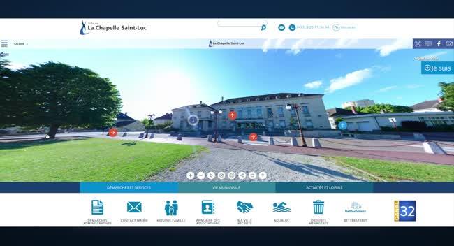 Canal 32 - La Chapelle Saint-Luc rend son site internet plus interactif