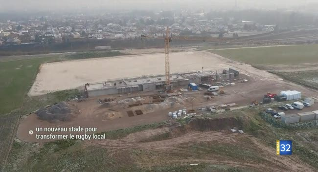Canal 32 - Saint-André-les-Vergers : un nouveau stade pour transformer l'essai du rugby local