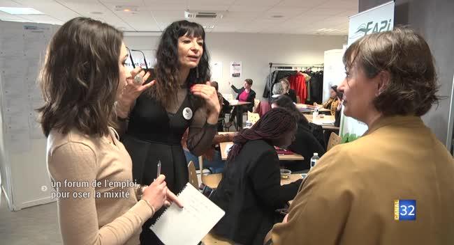 Canal 32 - Romilly-sur-Seine : un premier forum de l'emploi pour oser la mixité en entreprise