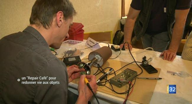 Canal 32 - La Rivière-de-Corps : un premier Repair Café dans l'Aube