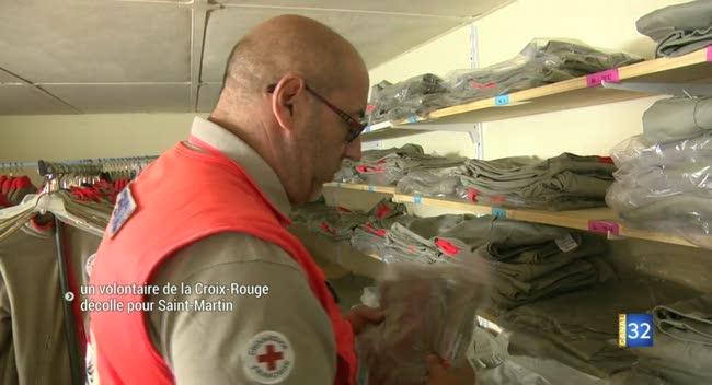 Canal 32 - Un volontaire aubois de la Croix-Rouge décolle pour Saint-Martin