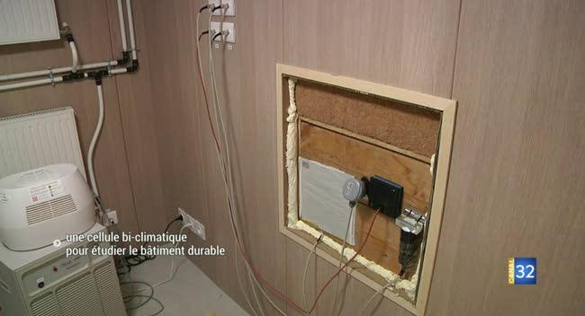 Canal 32 - Une cellule bi-climatique pour étudier le bâtiment durable