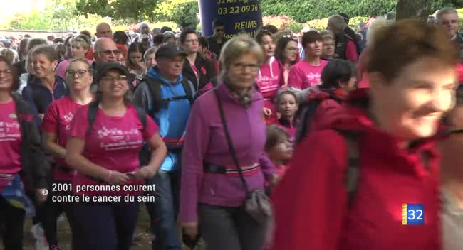 Canal 32 - Macey : une course en rose contre le cancer du sein