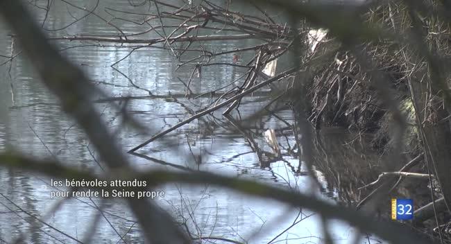 Canal 32 - Une deuxième édition pour l'opération J'aime la Seine propre.