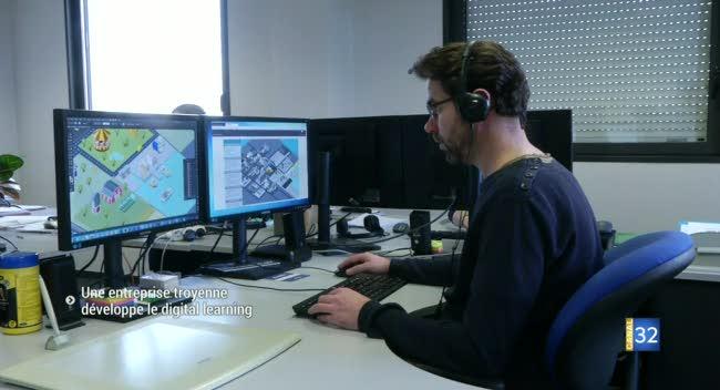 Canal 32 - Net Open : l'entreprise troyenne qui développe le digital learning