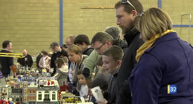 Canal 32 - Une expo 100% Lego, pour les grands et les petits