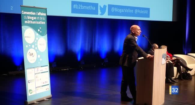 Canal 32 - Une fréquentation record pour la convention biogaz et méthanisation à Troyes
