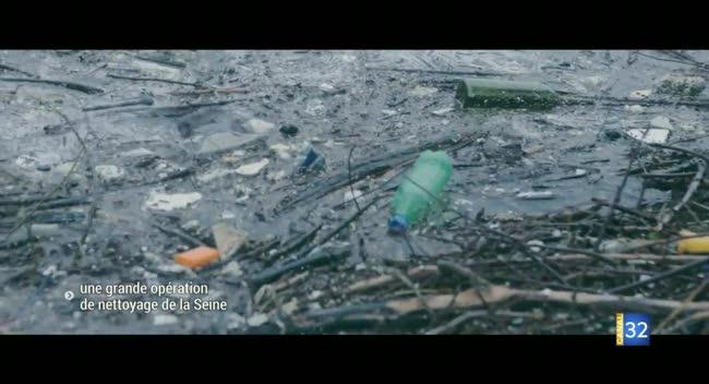 Canal 32 - Une grande opération de nettoyage de la Seine