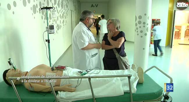 Canal 32 - Une journée de sensibilisation à la douleur à l'hôpital de Troyes