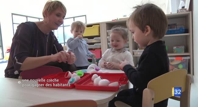 Canal 32 - Charmont-sous-Barbuise : une nouvelle crèche pour continuer à gagner des habitants
