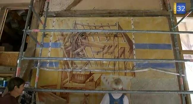 Canal 32 - Une nouvelle fresque pour le site de Dosches