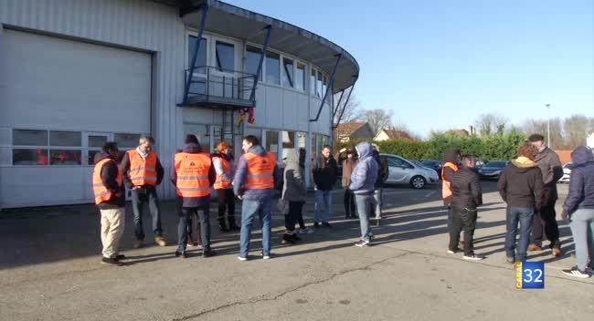 Canal 32 - Une partie des conducteurs des Courriers de l'Aube entame une grève