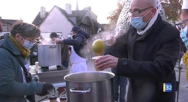 Canal 32 - Troyes : une soupe populaire pour soutenir les restaurateurs et hôteliers
