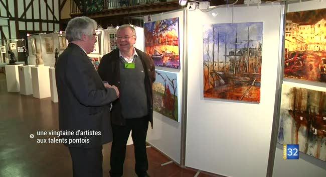 Canal 32 - Une vingtaine d'artistes locaux aux talents Pontois