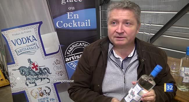 Canal 32 - Lusigny-sur-Barse : une vodka champenoise à base de raisin