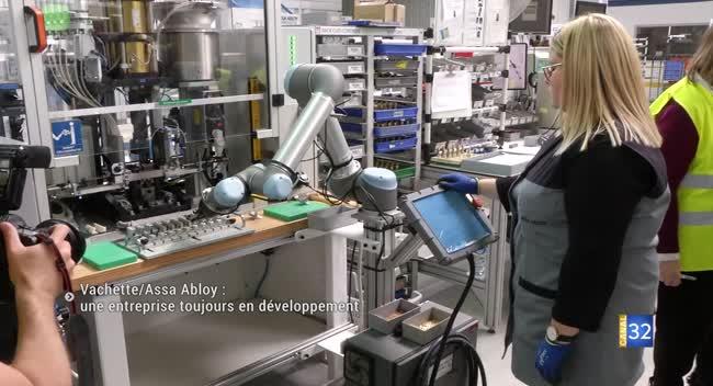 Canal 32 - Vachette/Assa Abloy : la clé du succès