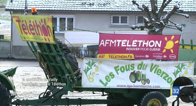 Canal 32 - Vailly-en-Champagne à l'heure du Téléthon