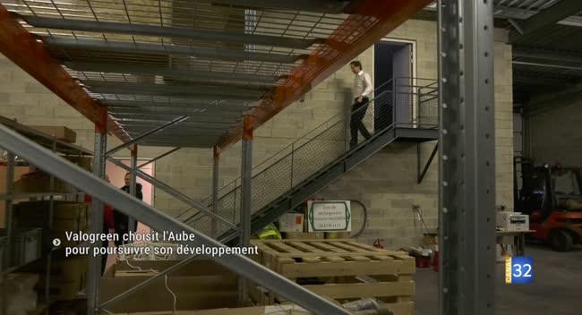 Canal 32 - Valogreen, un spécialiste français du biogaz, inaugure son site logistique