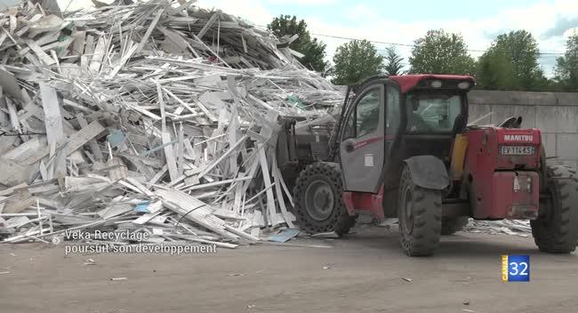Canal 32 - Vendeuvre-sur-Barse : Veka Recyclage poursuit son développement
