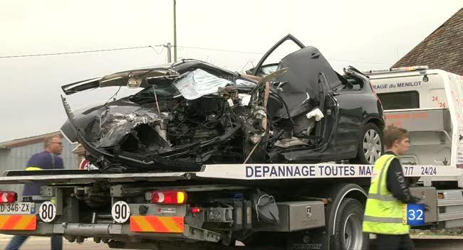 Canal 32 - VIDEO. Accident de la route à Montiéramey : un blessé grave héliporté
