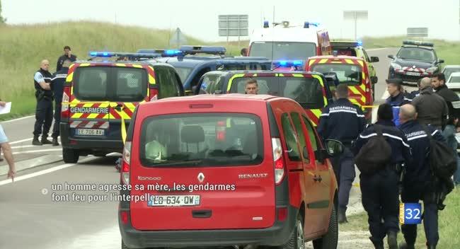 Canal 32 - VIDÉO. Un homme de 41 ans agresse sa mère, les gendarmes font feu pour l'arrêter