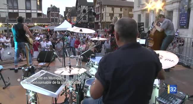 Canal 32 - Ville en Musiques à Troyes, un incontournable de la scène locale