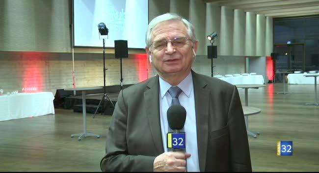 Canal 32 - Voeux : le président Adnot veut croire en l'avenir du département