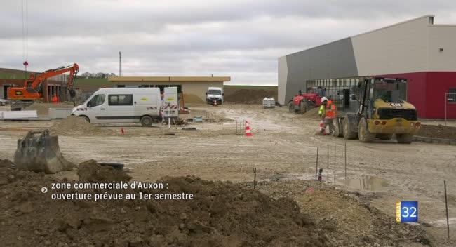 Canal 32 - Zone commerciale d'Auxon : une ouverture partielle prévue au 1er semestre 2020