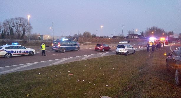 Emission Accident de la route : 3 blessés légers sur la rocade