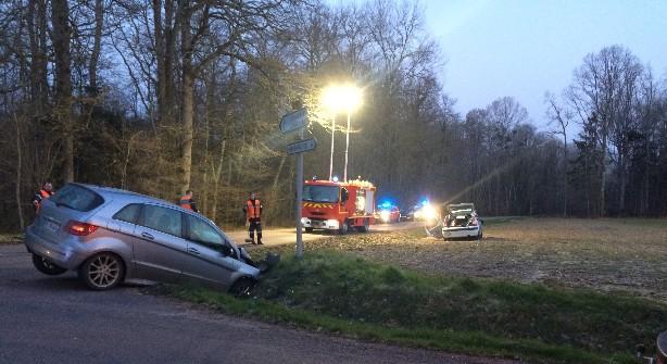 Emission Vendeuvre-sur-Barse : cinq blessés dans un accident de la circulation